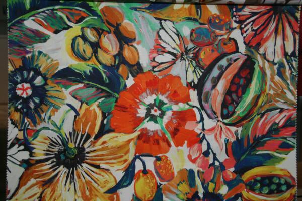 gemalte Blumen